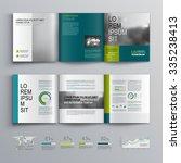 business brochure template...   Shutterstock .eps vector #335238413