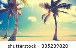 art untouched tropical beach in ... | Shutterstock . vector #335239820