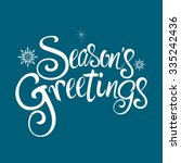 Text Of Season's Greetings Wit...