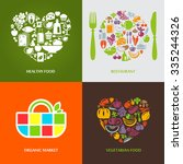 set of design concept icons for ... | Shutterstock .eps vector #335244326