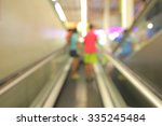 blurred photo of department... | Shutterstock . vector #335245484