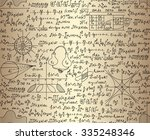 scientific vector seamless...   Shutterstock .eps vector #335248346