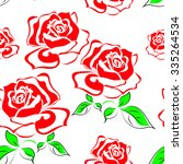 rose | Shutterstock .eps vector #335264534