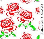 rose | Shutterstock .eps vector #335264534