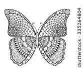 Butterfly. Vintage Decorative...
