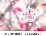 blurred winter background of... | Shutterstock .eps vector #335268914