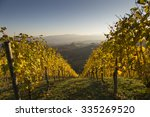 sunset in southern styria ... | Shutterstock . vector #335269520