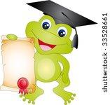 frog vector | Shutterstock .eps vector #33528661
