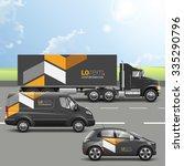 classic black transport...   Shutterstock .eps vector #335290796