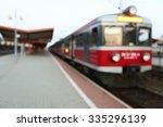 background train station   Shutterstock . vector #335296139