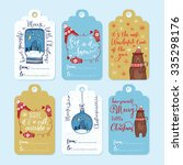 Set Of 6 Creative Christmas...