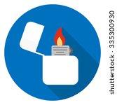 lighter icon   Shutterstock .eps vector #335300930