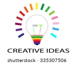 creative ideas  | Shutterstock .eps vector #335307506