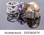 gold and silver jewelry  the