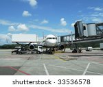 airplane ready for boarding | Shutterstock . vector #33536578