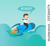 startup business. businessman... | Shutterstock .eps vector #335366474