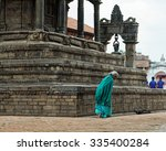 bhaktapur  nepal   october 19 ... | Shutterstock . vector #335400284