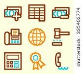 finance web icons | Shutterstock .eps vector #335402774