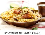 Fish Biryani With Yogurt Dip O...