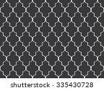 seamless black and white... | Shutterstock . vector #335430728