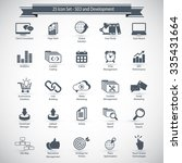 seo and development icons | Shutterstock .eps vector #335431664