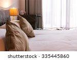 hotel bedroom interior  | Shutterstock . vector #335445860