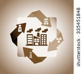 pollution infographics design ... | Shutterstock .eps vector #335451848