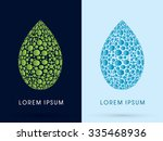 luxury lotus  water drop and...
