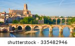 Cityscape Of Albi In A Summer...