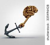 brain strength concept as a... | Shutterstock . vector #335496428