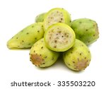 Cactus Pears On White...