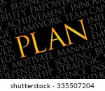 plan word cloud  business