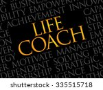 life coach word cloud  business