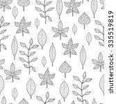 vector seamless pattern with... | Shutterstock .eps vector #335519819