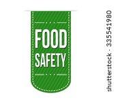 Food Safety Banner Design Over...