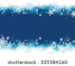 winter background with... | Shutterstock .eps vector #335584160