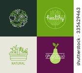 vector logo design template... | Shutterstock .eps vector #335629463