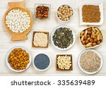 collection natural products... | Shutterstock . vector #335639489