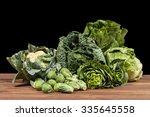 Assortment Of Green Vegetables...