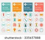 icons set  programming... | Shutterstock .eps vector #335657888
