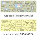 line design concept banner for...