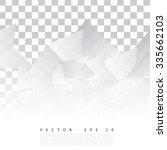 vector abstract geometric shape ... | Shutterstock .eps vector #335662103