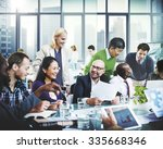 business team cooperation... | Shutterstock . vector #335668346