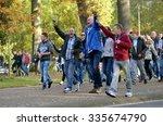 enschede  the netherlands   oct ... | Shutterstock . vector #335674790