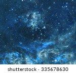 Night Sky Clouds Stars Nebula - Fine Art prints