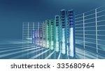 economic bar chart for business ... | Shutterstock . vector #335680964