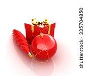 beautiful christmas gifts | Shutterstock . vector #335704850