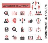 career development  icons ... | Shutterstock .eps vector #335728778