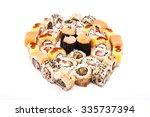 japanese food   sushi. | Shutterstock . vector #335737394