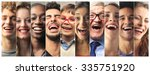 laughing people | Shutterstock . vector #335751920